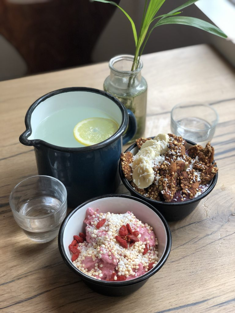 Wild and the Moon Paris smoothie bowls