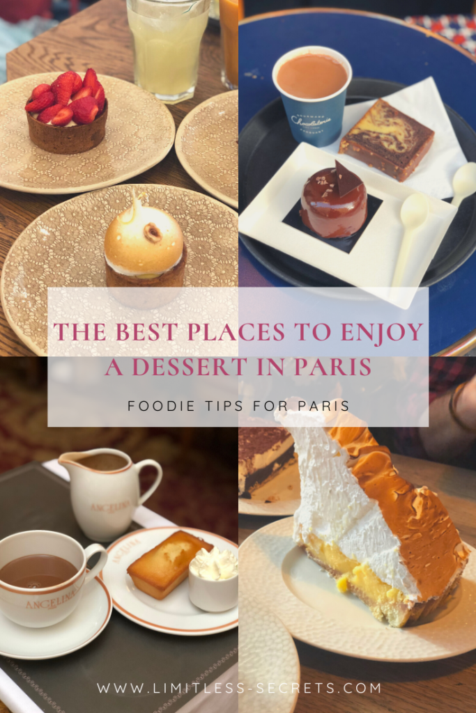 The best places to enjoy a dessert in Paris Pin