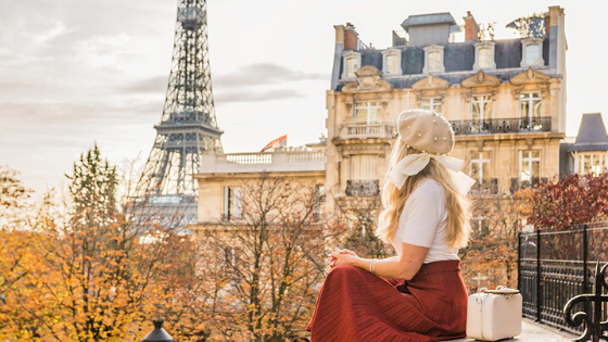 Best Fall Instagram spots in Paris Blog Banner