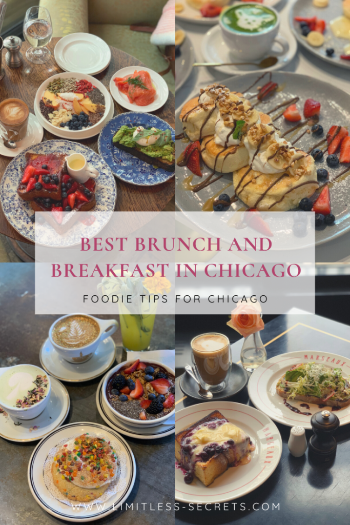 Best brunch and breakfast in Chicago - Pin