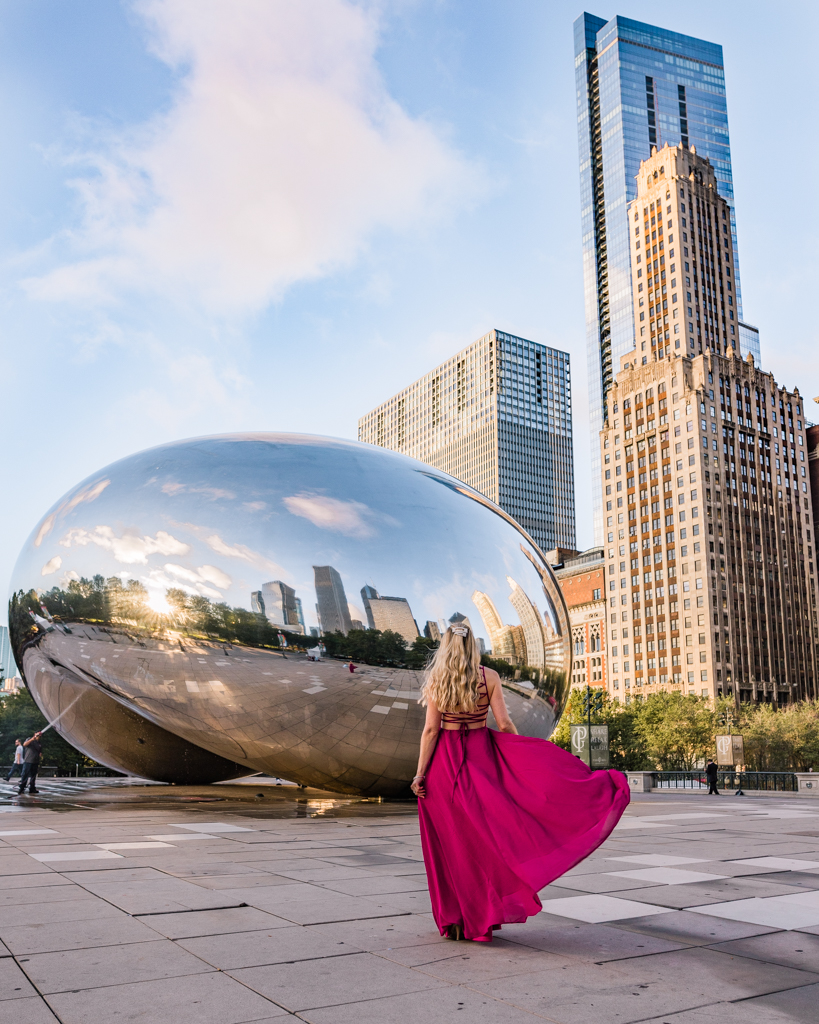 The Bean - Cloud Gate - in Chicago