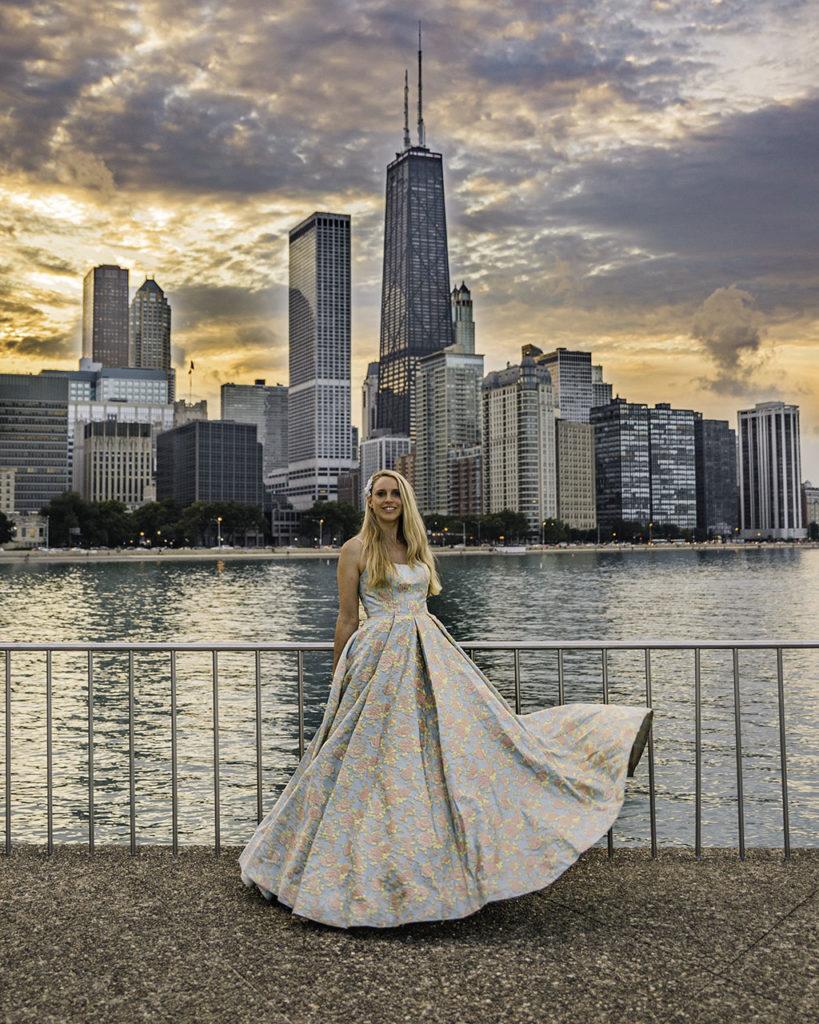 Sunset Olive Park Chicago