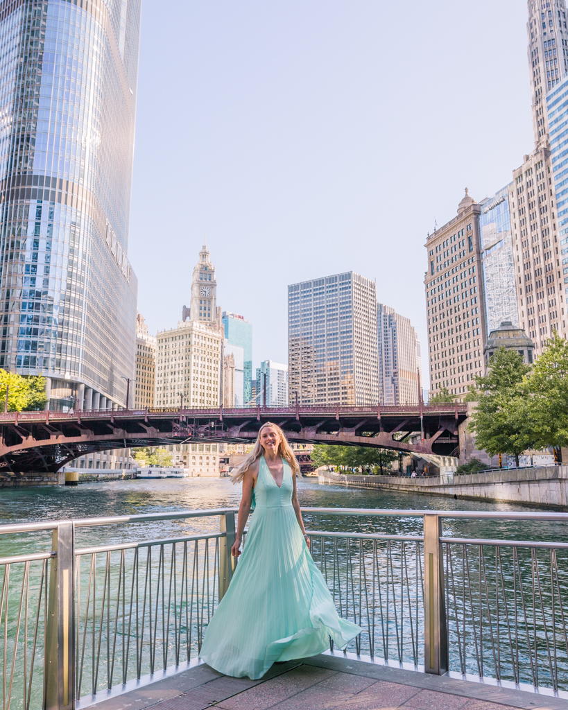 Riverwalk in Chicago