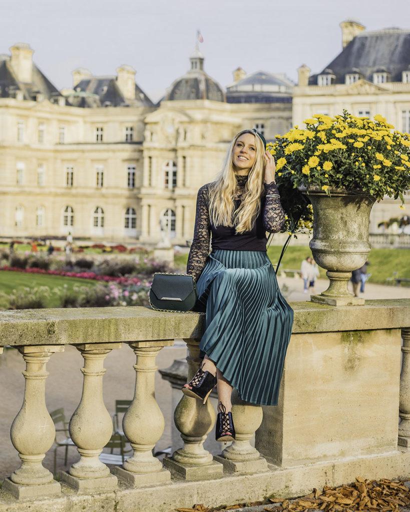 Paris in autumn - Jardin du Luxembourg