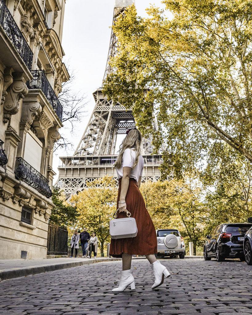 Paris in autumn - Rue de l'Université