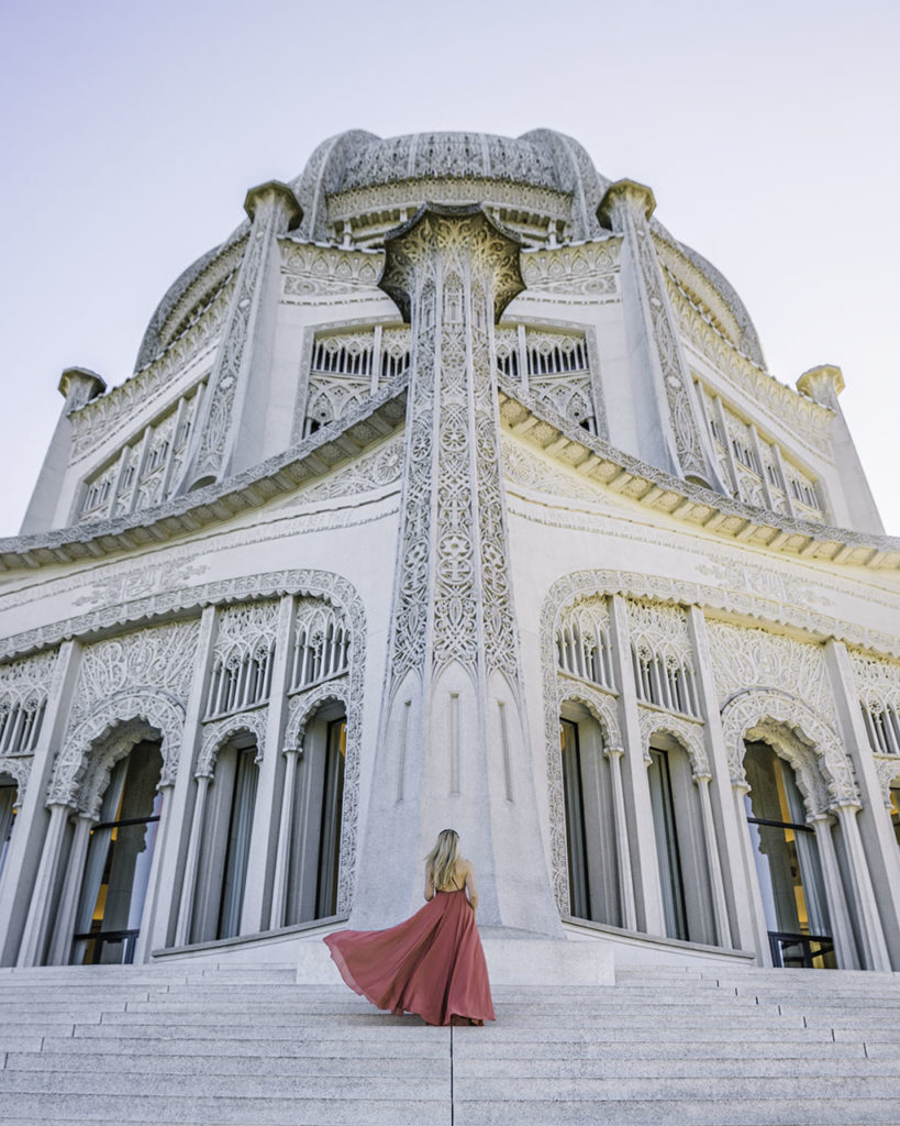 Bahá'í House of Worship - Chicago