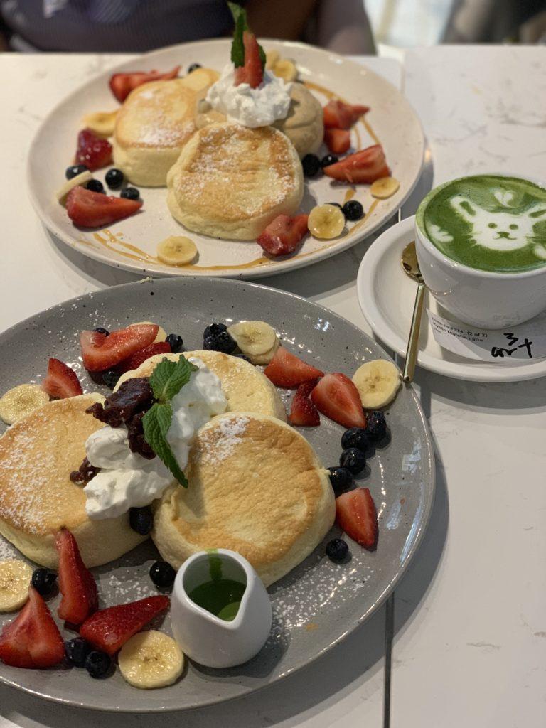 Hanabusa Cafe pancakes - Chicago