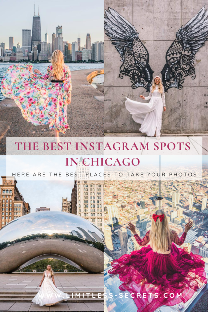 The Best Instagram spots in Chicago! I am sharing with you the most instagrammable places in Chicago! I can tell you where you will be able to take beautiful photos in this city! #Chicago #illinois #USA | Chicago photography | Most instagrammable places in Chicago | Where to take photos in Chicago | Chicago insta spots | Chicago photos | Where to take photos in Chicago | Chicago photo spots | Best places to take photos in Chicago | What to see in Chicago | What to do in Chicago