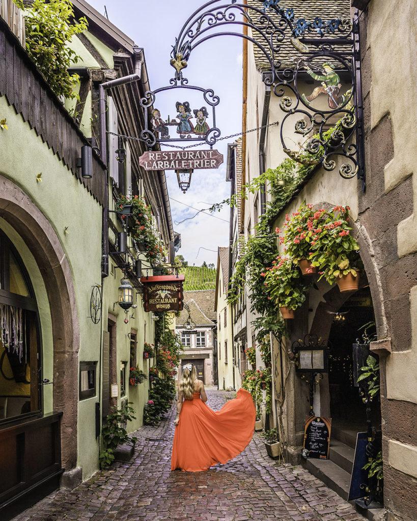 Restaurant l'Arbalétrier - Riquewihr, Alsace