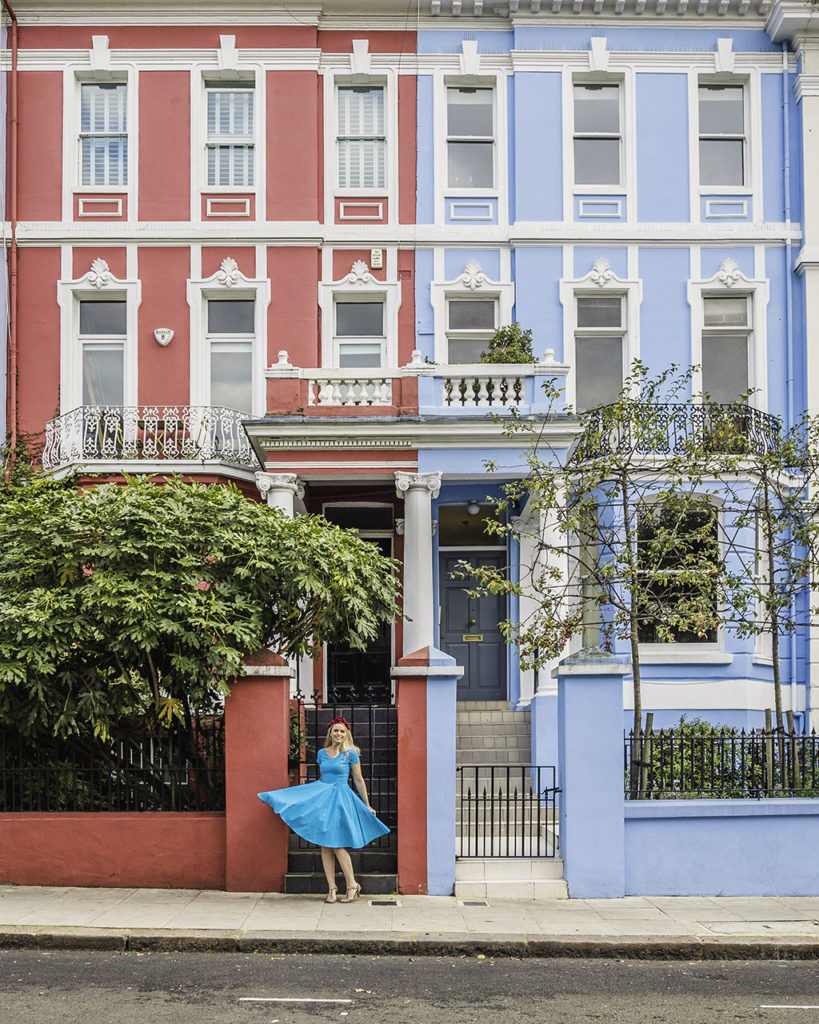 Notting Hill Houses in Colville Terrace - London