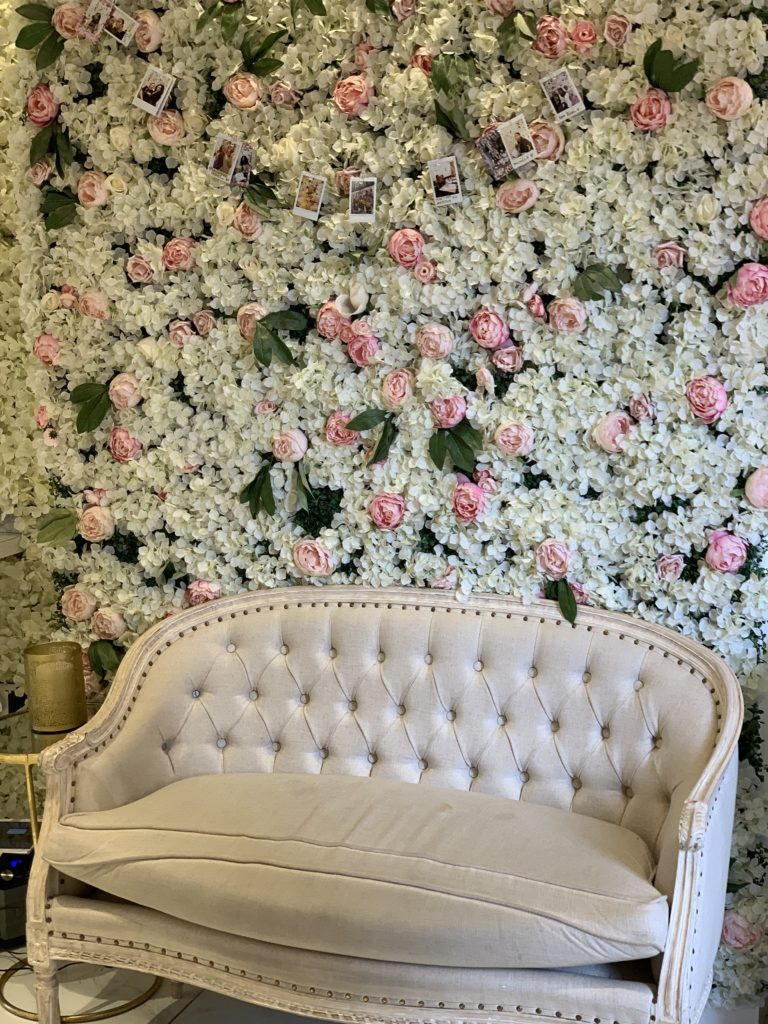 Flower Wall St Aymes London