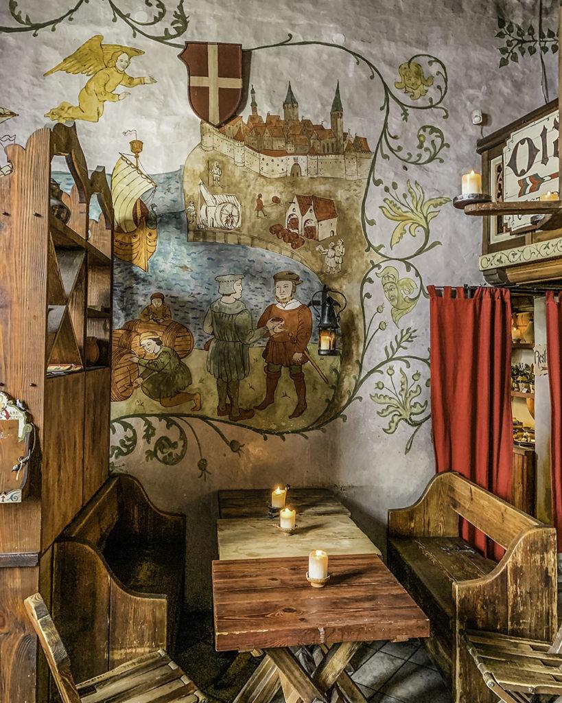 Olde Hansa - Restaurant interior - Tallinn, Estonia