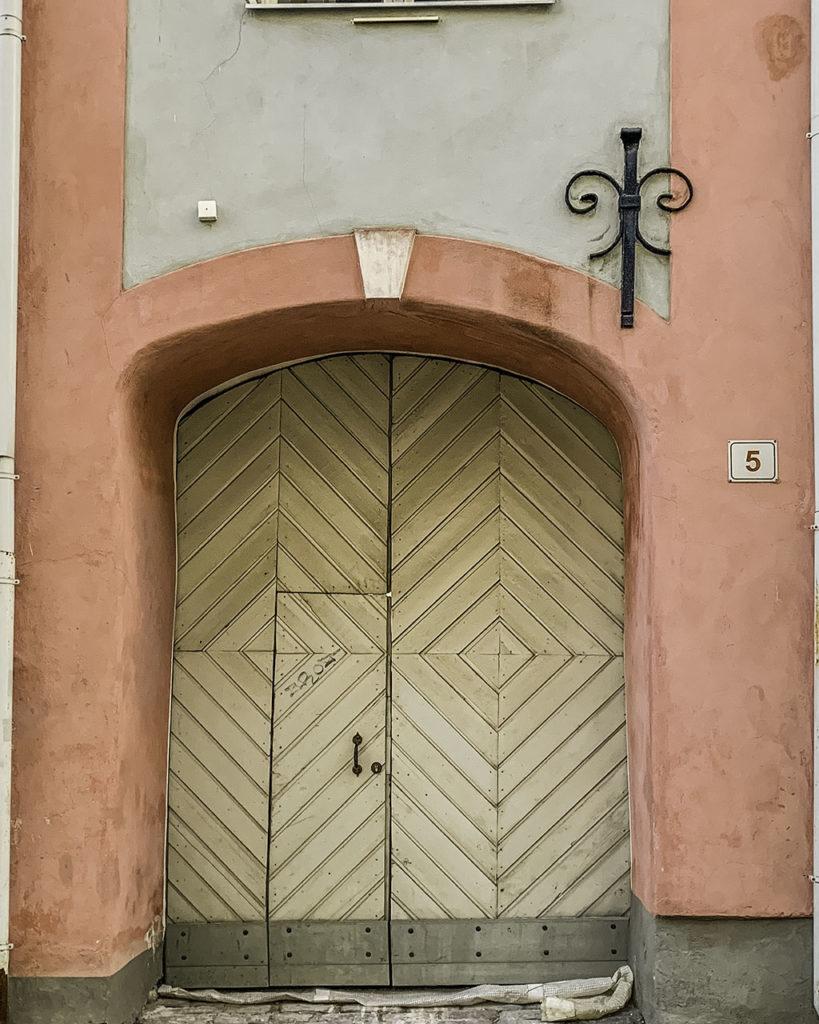 Door of Tallinn, Estonia