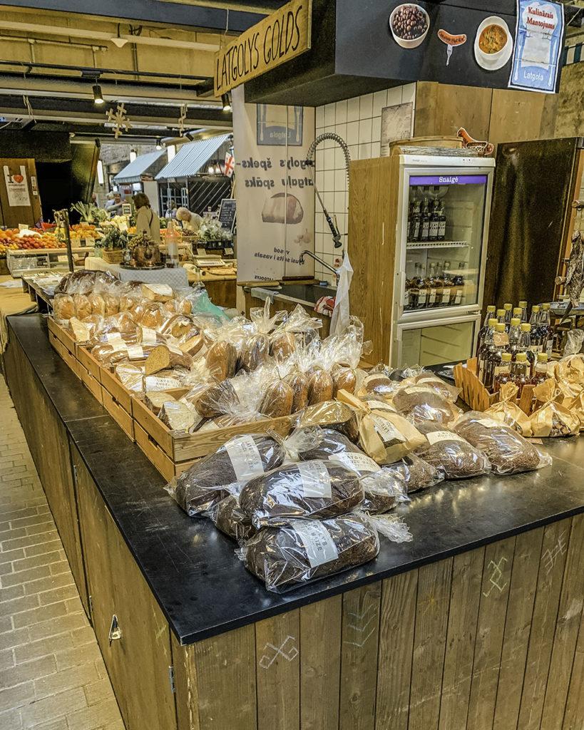 Indoor market: Balti Jaama Turg, Tallinn - Estonia