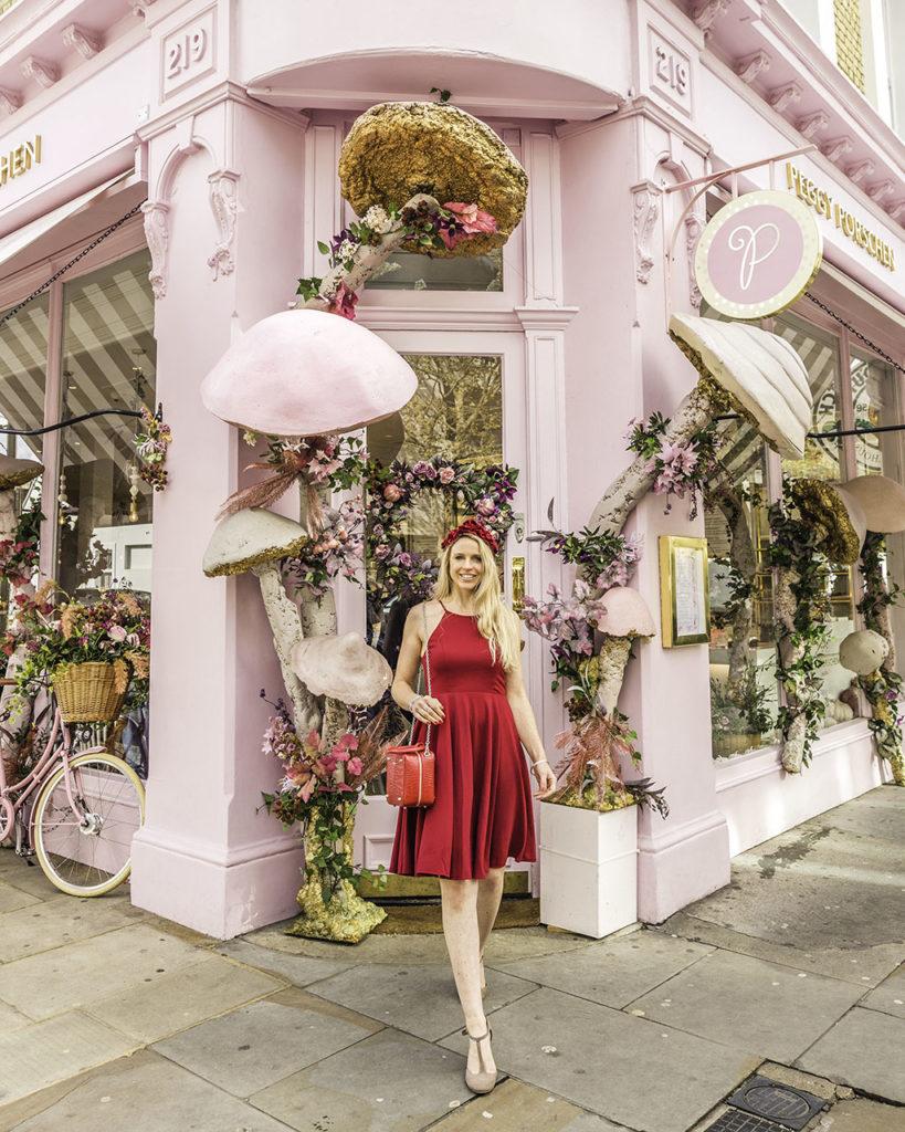 Facade Peggy Porschen London