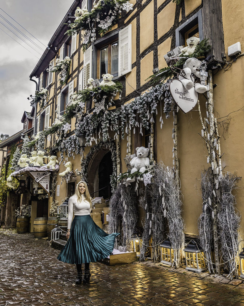 le comptoir des authentics during Christmas - Riquewihr, Alsace