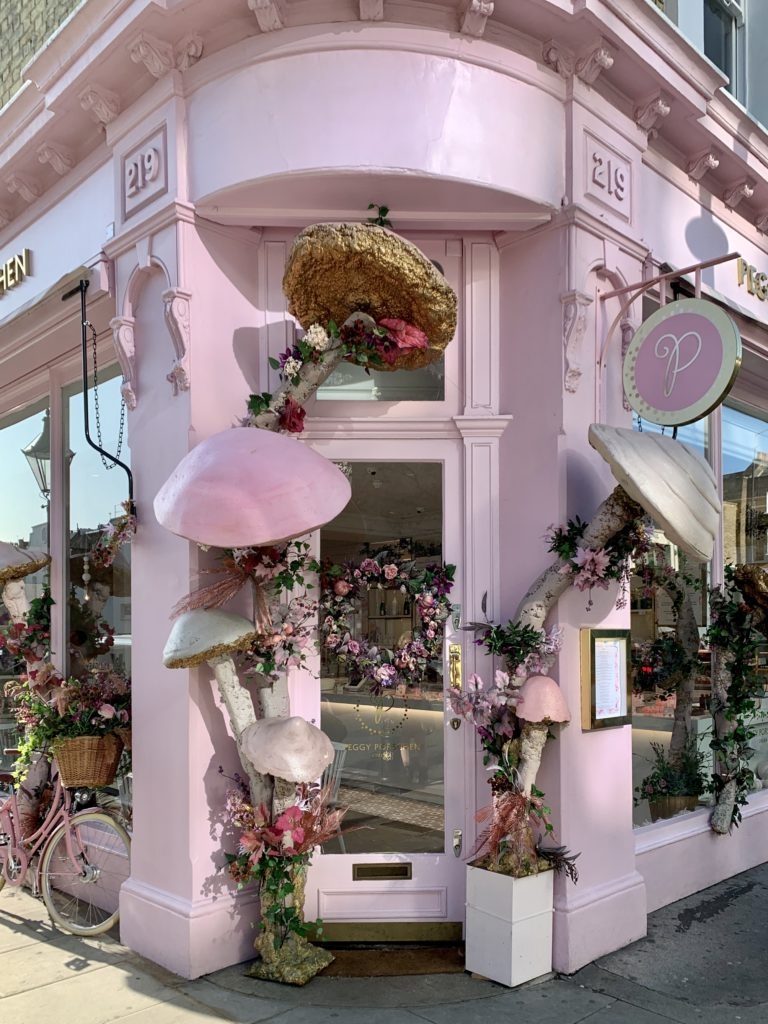Autumn Facade Peggy Porschen London