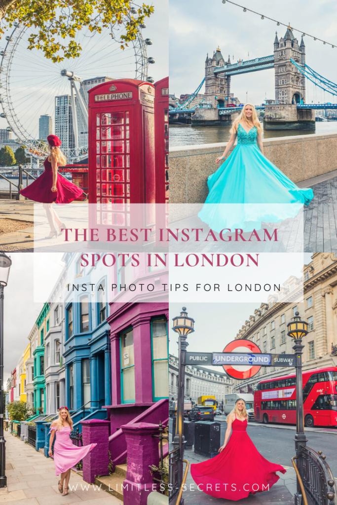 The best Instagram spots in London Pin