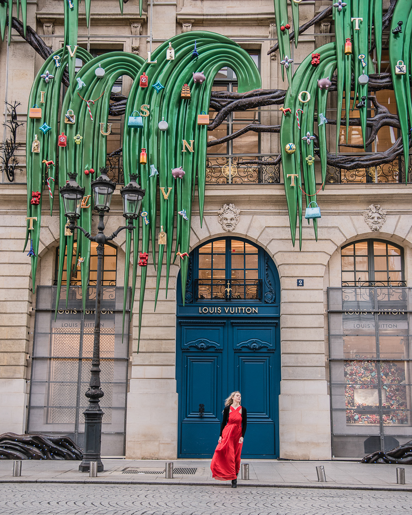 Louis Vuitton Christmas Place Vendôme Paris 2018