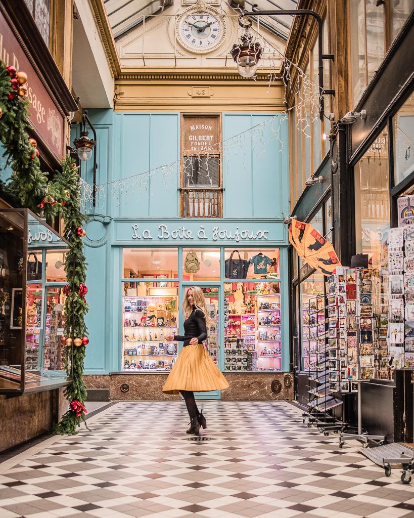 Passage Jouffroy Christmas Paris 2018