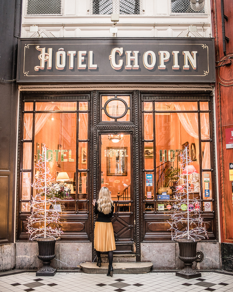 Hotel Chopin Passage Jouffroy Paris 2018