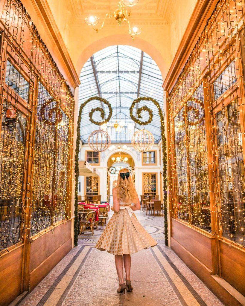 Galerie Vivienne - Christmas in Paris