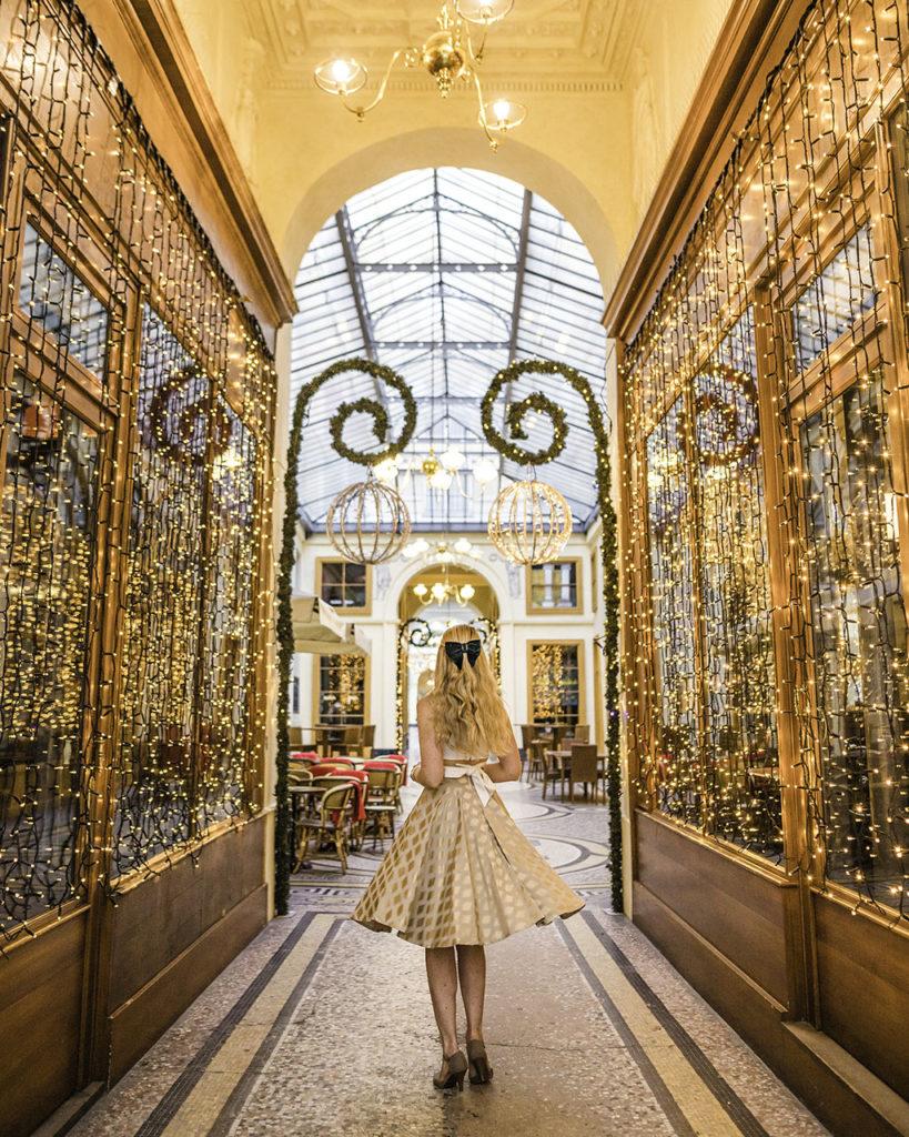 Galerie Vivienne Christmas Paris 2019