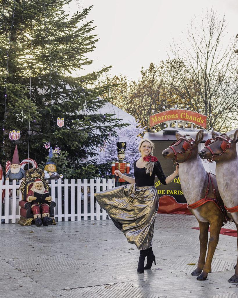 Christmas market Tuileries Garden Paris 2019
