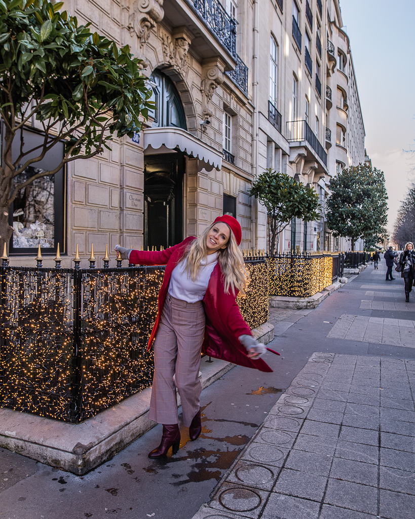 Avenue Montaigne Christmas Paris 2018