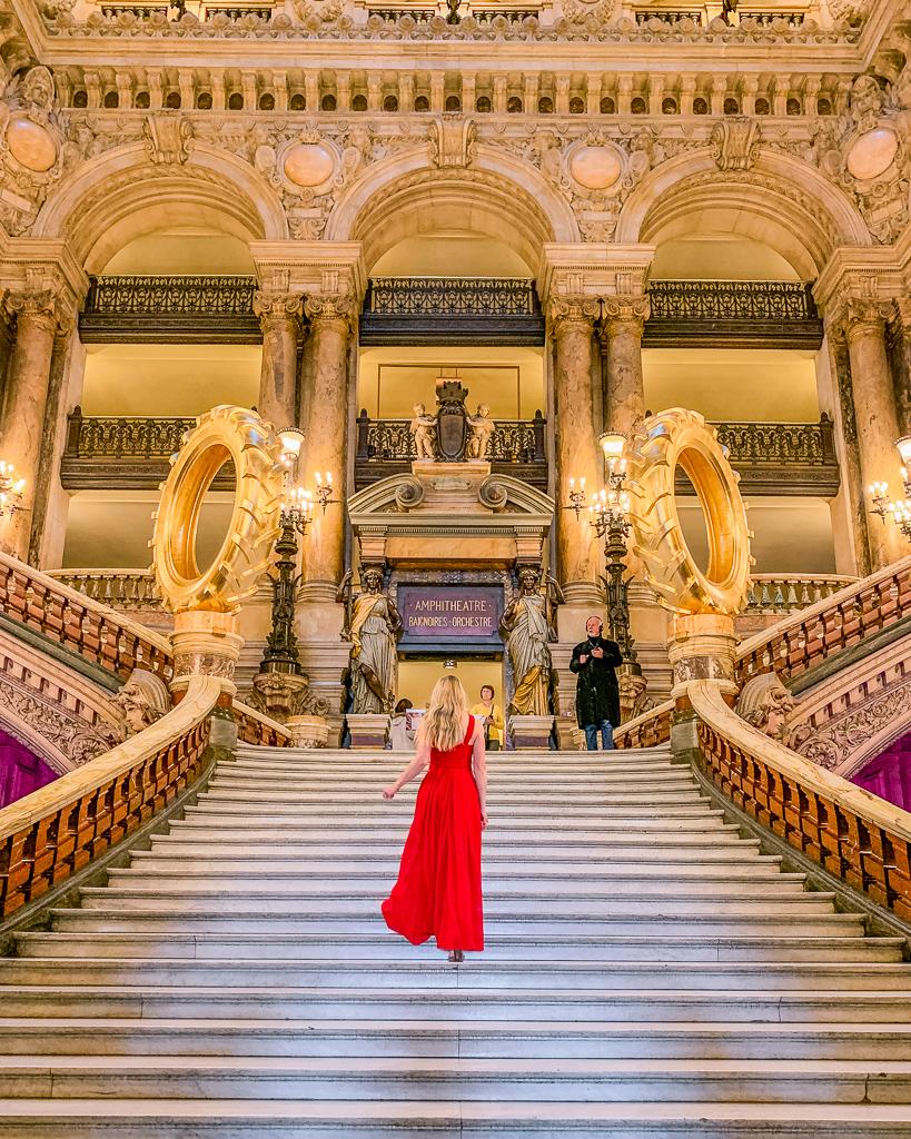 Opera Garnier Interior - Paris