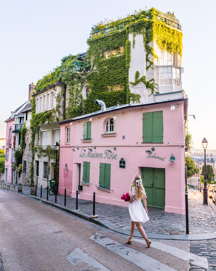 La Maison Rose - Montmartre, Paris