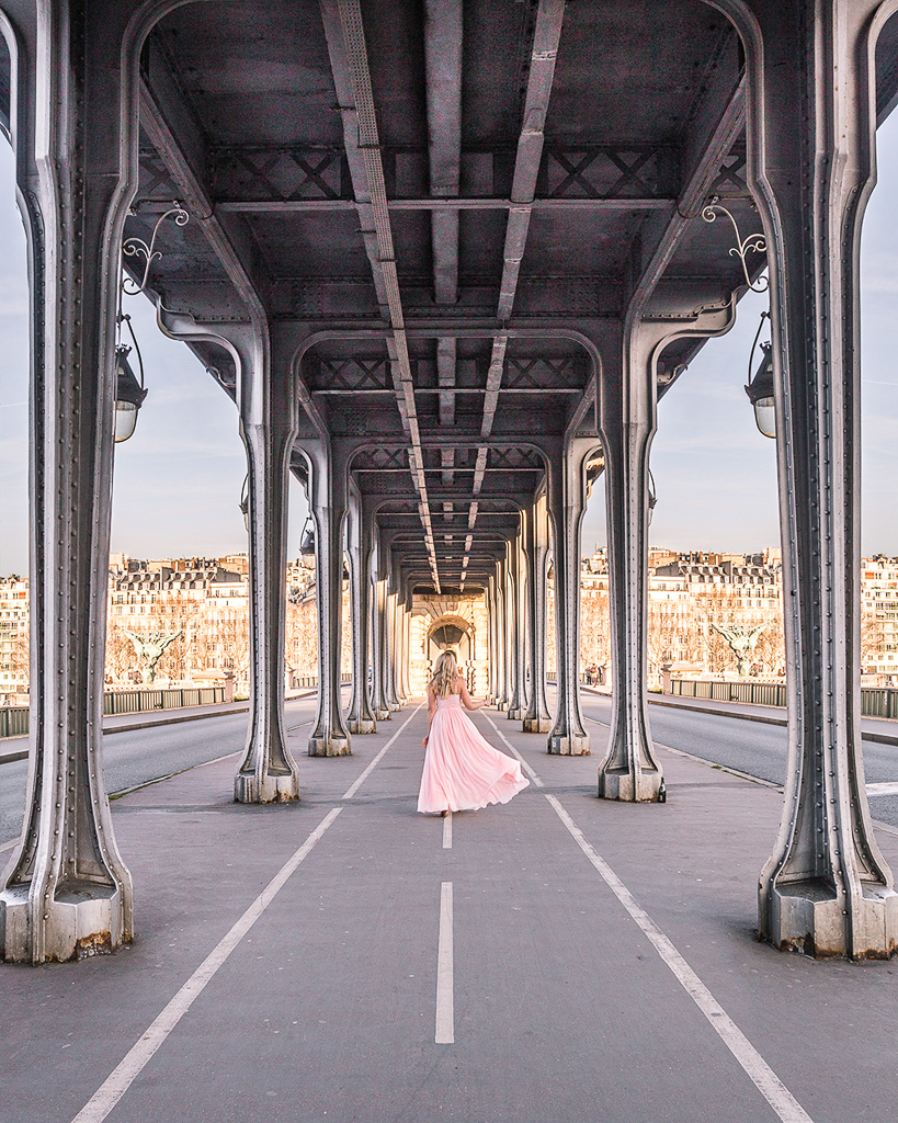 Pont de Bir Hakeim - Paris