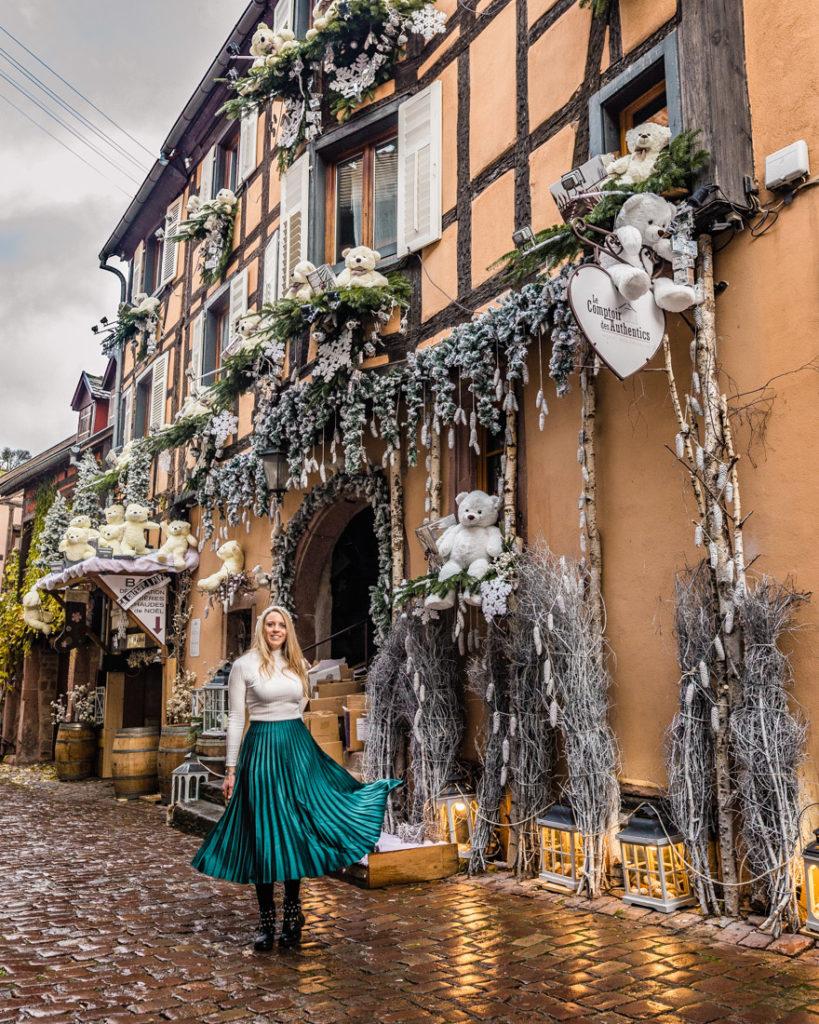Le Comptoir des Authentics during Christmas - Riquewihr, Alsace