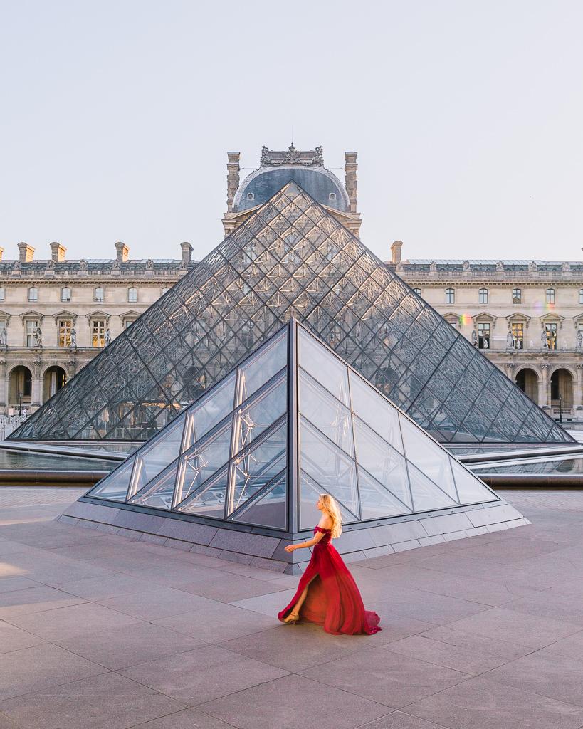 Louvre Pyramids - Paris