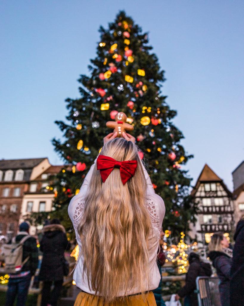 Christmas tree in Strasbourg - Alsace
