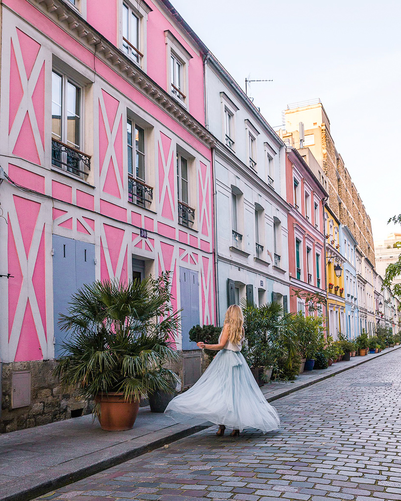 Rue Crémieux - Paris