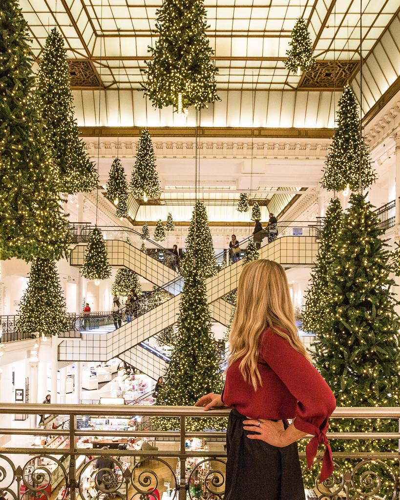Le Bon Marché Rive Gauche Christmas Paris 2018