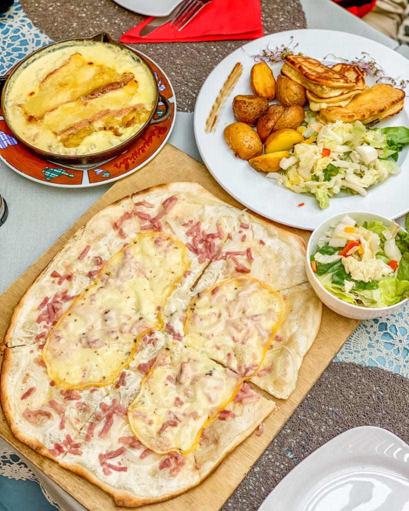 Alsatian food Le Relai de Riquewihr - Alsace
