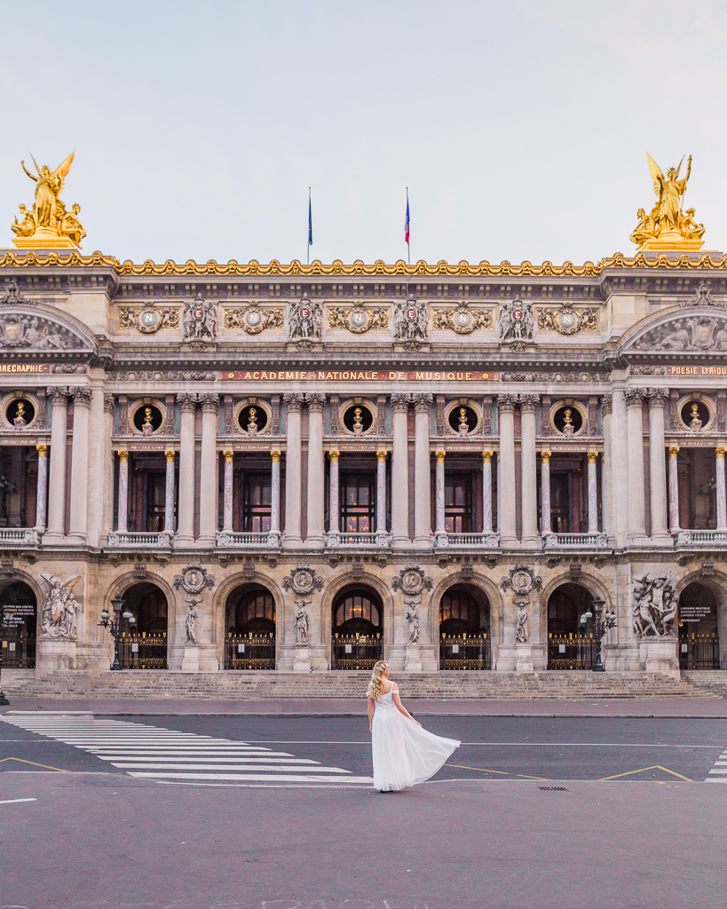 Opera Garnier Exterior - Paris