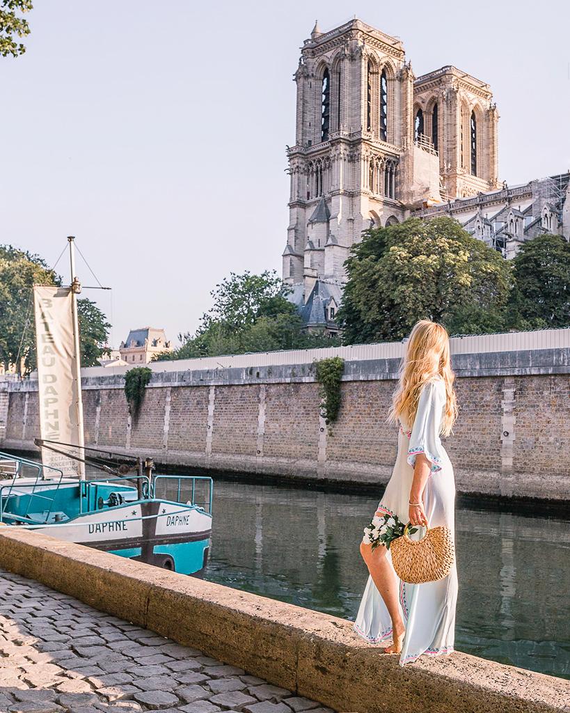 Cathédrale Notre Dame de Paris (side) - Paris