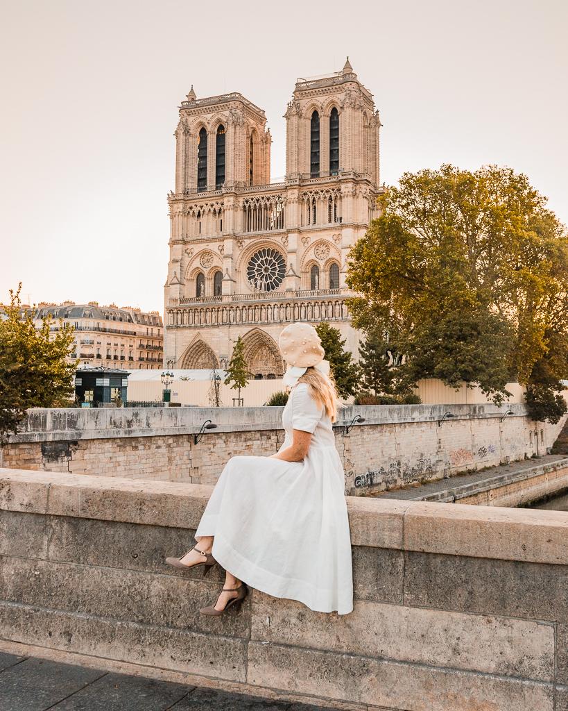 Cathédrale Notre Dame de Paris (front) - Paris