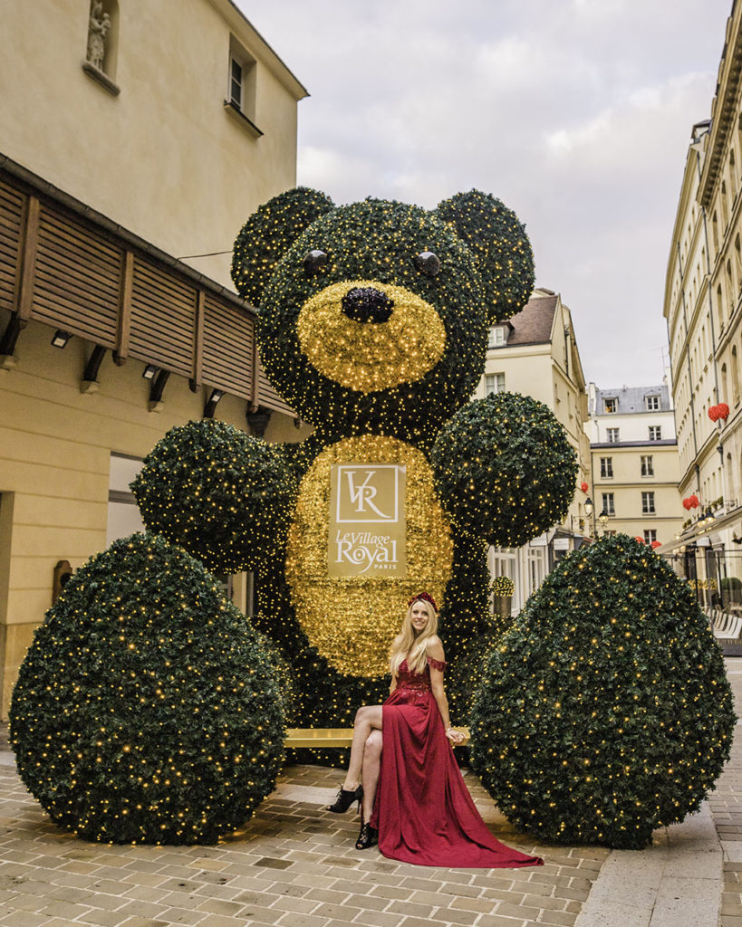 Village Royal Christmas Paris 2019