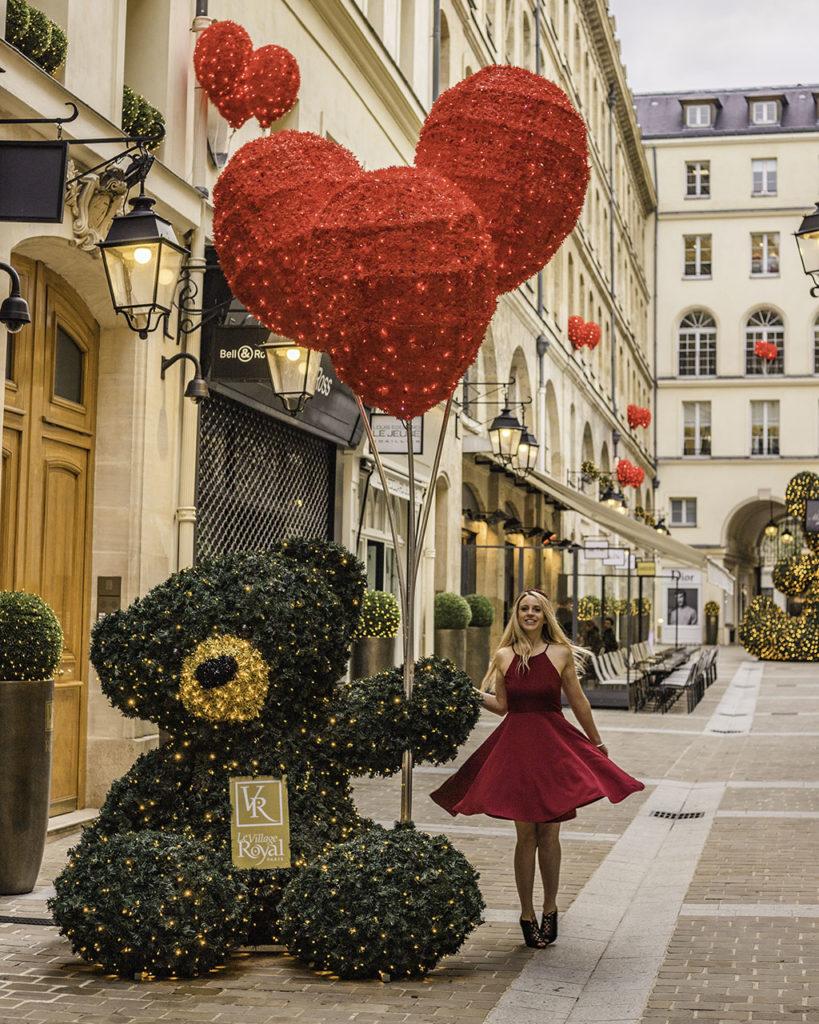 Village Royal Christmas Paris 2019
