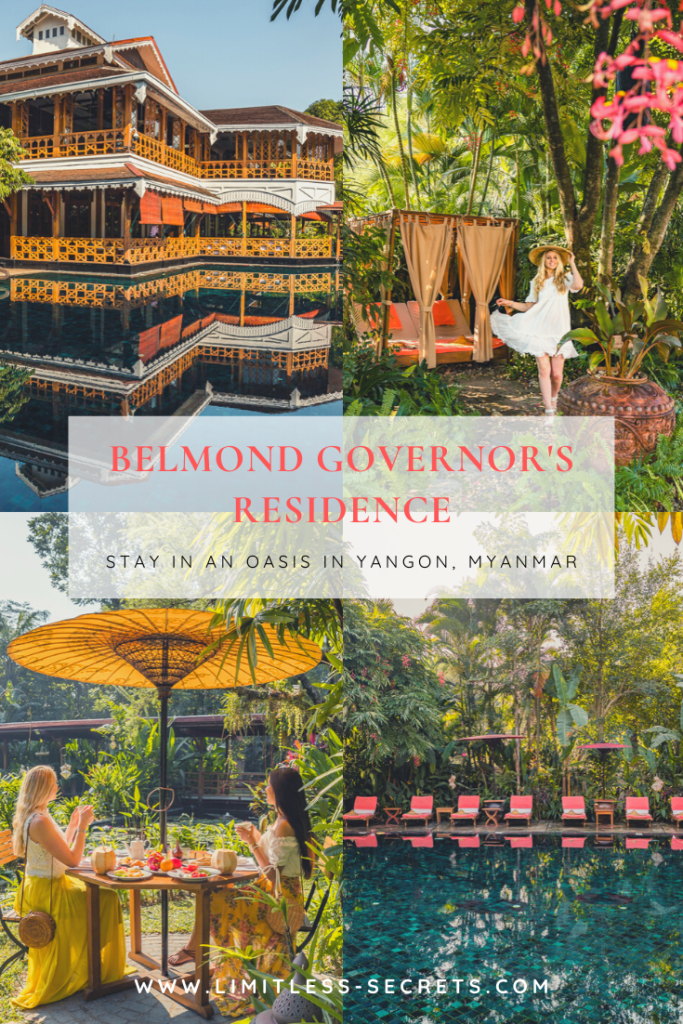 Belmond Governor's Residence - Yangon, Myanmar