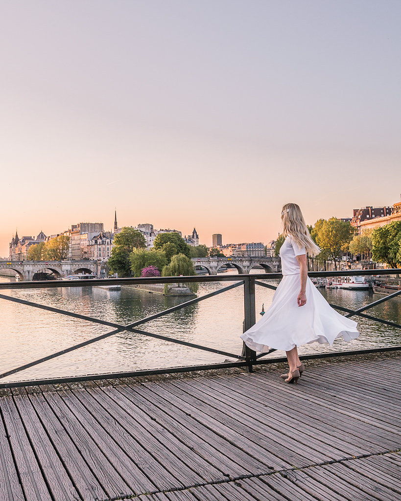 View from the Pont des Arts - Paris