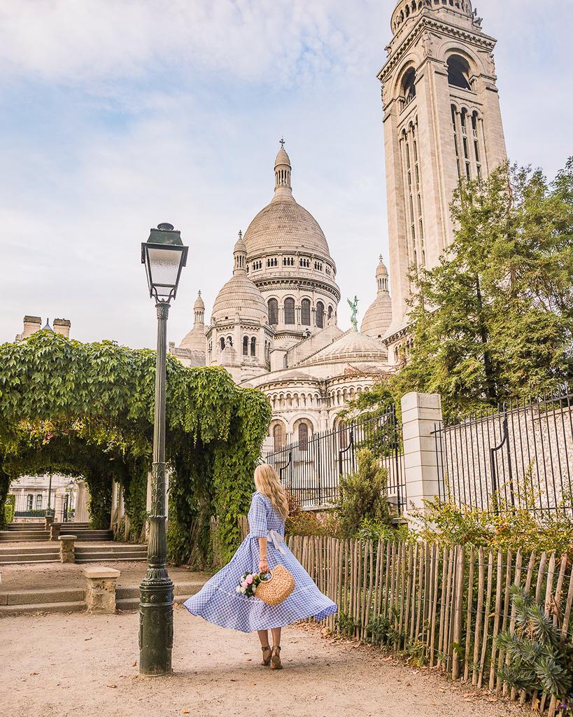 Square Marcel Bleustein Blanchet in Montmartre - Paris
