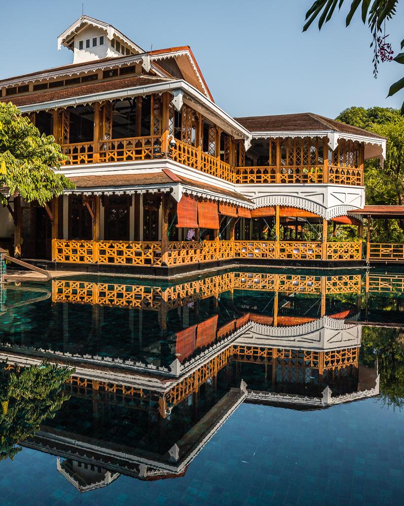 Belmond Governor's Residence, main building - Yangon, Myanmar