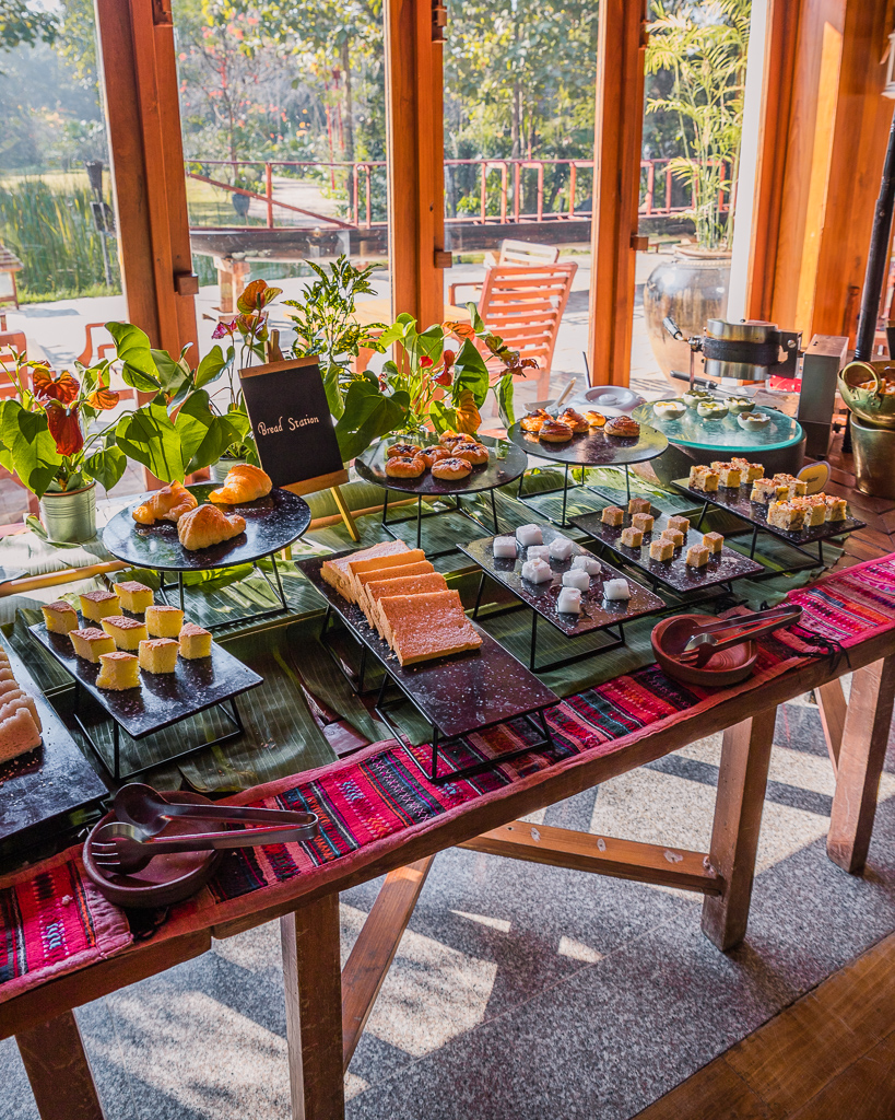 Villa Inle Boutique Resort, breakfast - Inle Lake, Myanmar