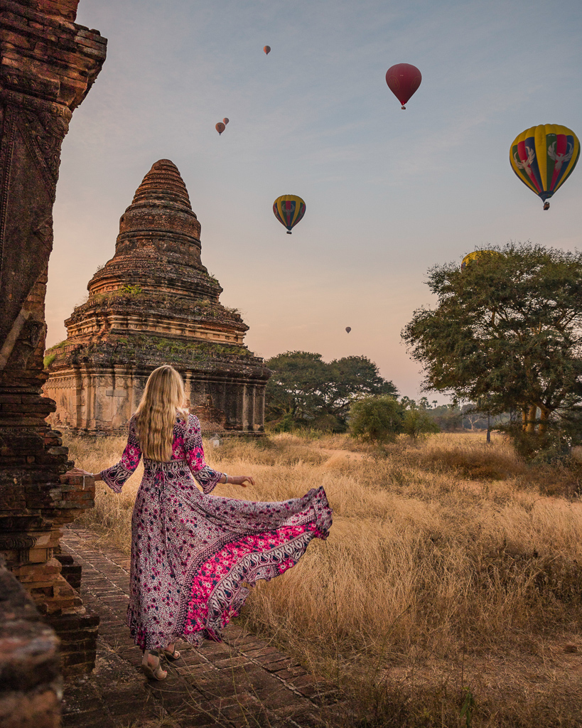 Sunrise in Bagan - Myanmar