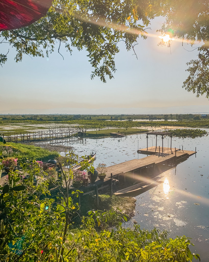 Villa Inle Boutique Resort, view - Inle Lake, Myanmar